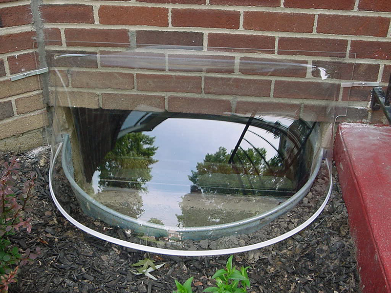 get your basement window wells ready for winter window