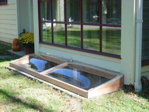 Model 5-R Masonry Window Well Cover